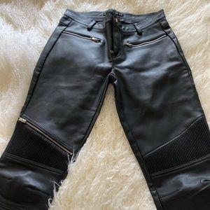 Zara Pants - Brand New faux leather pants